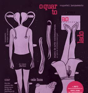 Livro do escritor Marcelo Lima reúne conto e quadrinhos sobre sexualidade