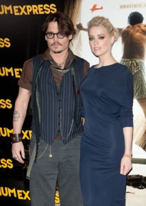 Johnny Depp e Amber Heard (Foto: Agência Getty Images)