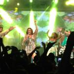 Às vésperas do carnaval, Daniela Mercury participa do ensaio do Olodum