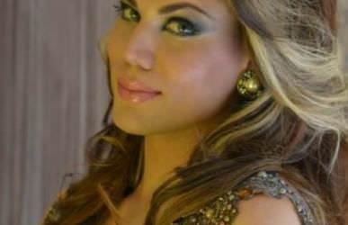 Eduarda Brigida  representante  da Bahia no Miss Brasil Gay 2013