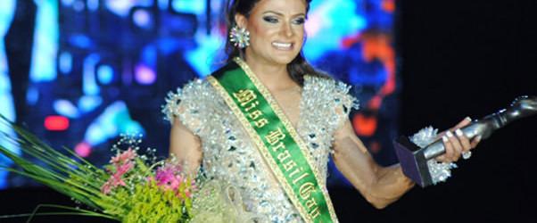 Raika Bitencourt, a Miss Brasil Gay 2011