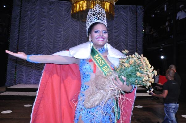 Bianca Snadder Miss Bahia Gay 2012
