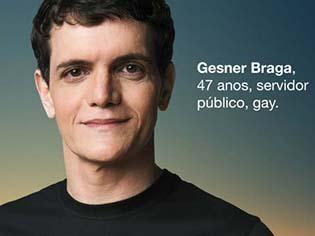 Imagem usada em campanha da Secretaria de Saúde, em 2012, onde orgulhosamente mostrei minha cara e orientação sexual em outdoors na Bahia.