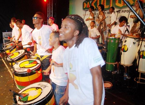 Escola Olodum participará do evento de lançamento no TCA. (Foto: Divulgação)
