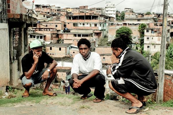 Grupo de Rap Lição Final (Foto - Coletivo Nós Chegou)