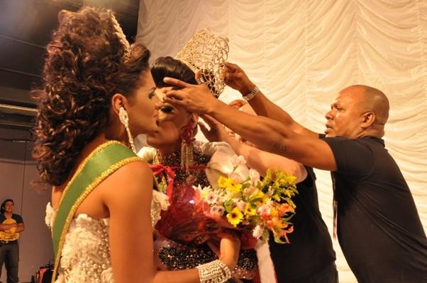 Letícia Freitas, de Roraima, venceu a  edição do Miss Brasil Gay 2013