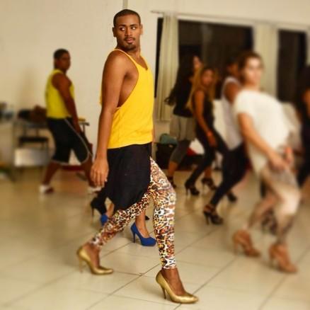 Vinicius Nascimento responsável pelas coreografias da apresentação