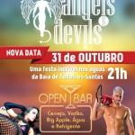 Rave no mar: Festa 'Angels & Devils' no balanço da Baía de Todos os Santos