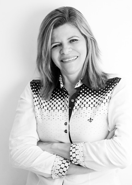 A empresária Jaqueline Miguez