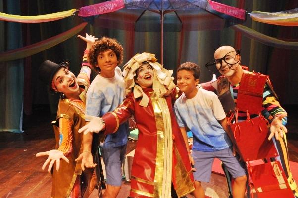 O espetáculo Circo de Só Ler (Foto: Genilson Coutinho