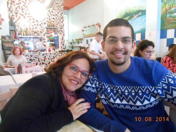 Licia Carvalho e Pedro/Foto Arquivo pessoal