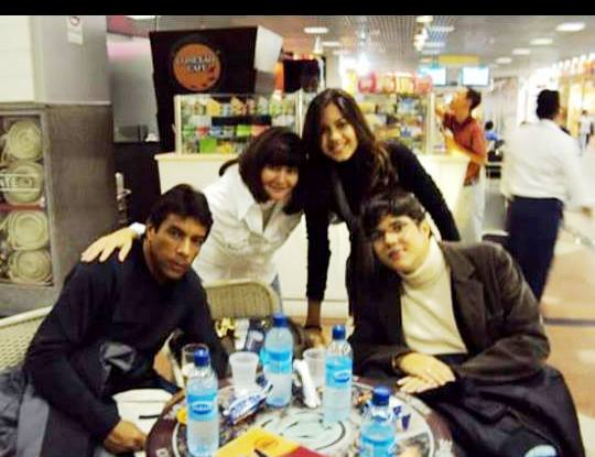 Inês Silva e familia/Foto: Arquivo particular