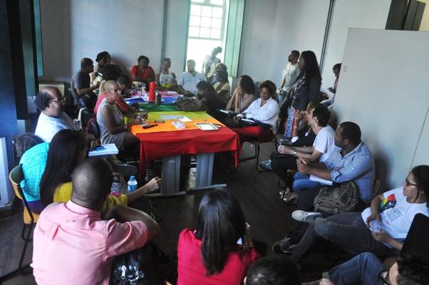 Reunião preparativa do projeto (Foto:Genilson Coutinho)