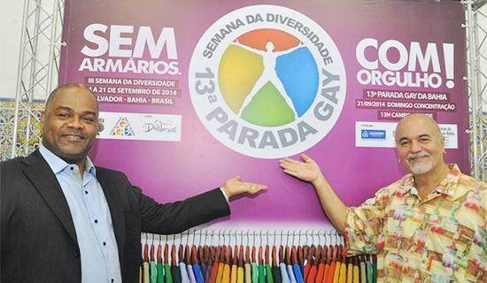A 14ª Gay de Salvador acontecerá no dia 13 de setembro . Foto: Genilson Coutinho/Dois Terços