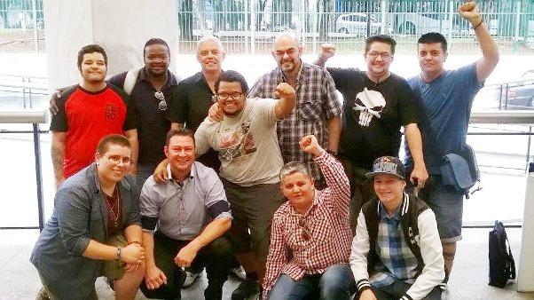 Registro do 1º Encontro Nacional de Homens Trans  realizado este ano em São Paulo /Foto: Reprodução .