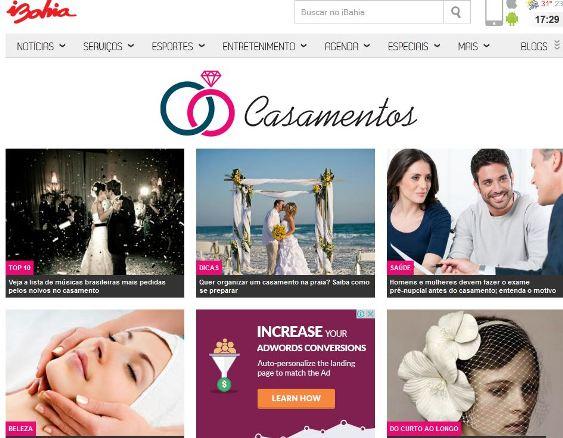 iBahia traz novo canal sobre casamentos_créditos Divulgação