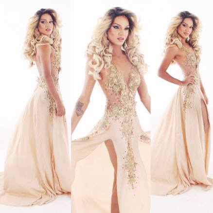 Isabella Sodred /Miss Salvador Gay 2014