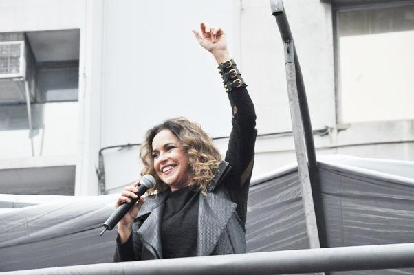 Em 2013 a cantora Daniela Mercury comandou a festa baiana em SP. Foto: Genilson Coutinho