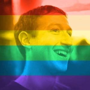 Mark Zuckerberg, diretor-executivo do Facebook, mudou a foto de seu perfil com a aprovação do casamento gay nos Estados Unidos (Foto: Reprodução)