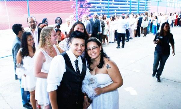 Em dezembro de 2014, 160 casais homoafetivos se casaram no Armazém da Utopia - Divulgação/Wanderson Cruz Leia mais sobre esse assunto em http://oglobo.globo.com/sociedade/estado-do-rio-abre-inscricoes-para-cerimonia-coletiva-de-casamento-homoafetivo-16428960#ixzz3dwE29hfM  © 1996 - 2015. Todos direitos reservados a Infoglobo Comunicação e Participações S.A. Este material não pode ser publicado, transmitido por broadcast, reescrito ou redistribuído sem autorização.