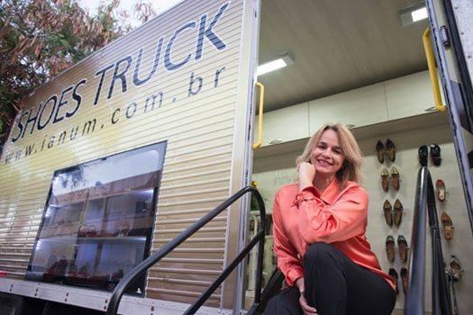 Andrea Mariz Shoes Truck