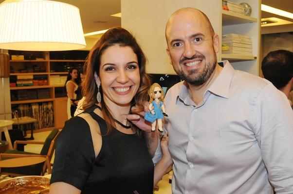 Manuela Andrade e Mauricio Lins