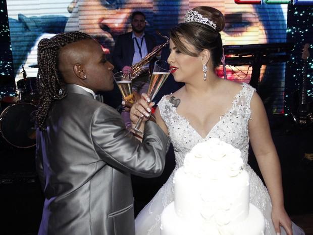 Casamento Neném e Thaís (Foto: Celso Tavares/EGO)