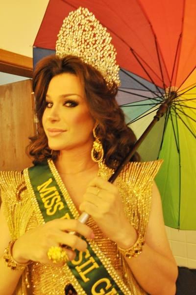 Sheila Veríssimo Miss 2013 continua com o titulo até a próxima edição (Foto: Genilson Coutinho)