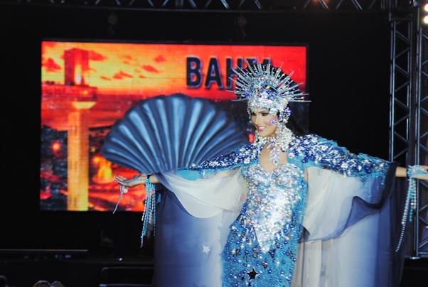 Em 2010 Shayene Kathryn representante da Bahia ficou com o 2º lugar. (Foto: Genilson Coutinho)