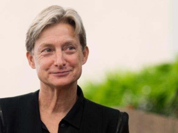Judith Butler :filósofa pós-estruturalista e  uma das principais teóricas contemporânea do feminismo, teoria queer, política e ética.