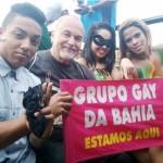 Parada gay de Cajazeiras reuniu teve 5 mil pessoas no último domingo (2º)