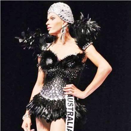 A beleza Giselle Carter será um das apresentadora