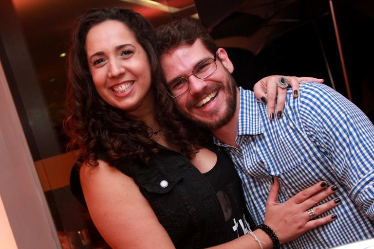 Aline Barretto e Guilherme Miranda