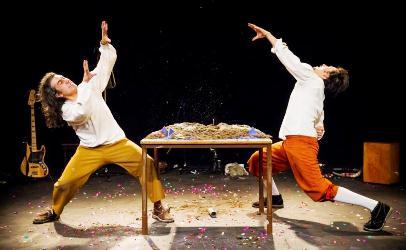 Espetáculo Pedro de Valdivia_Cia. Tryo Teatro Banda (Chile)_ Foto Alex Brenner - Cópia