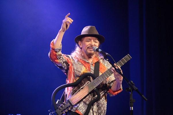 Geraldo Azevedo no projeto Canto e poesia da Caixa Cultural em Fortaleza -Ce.Fortaleza-Ce, 15.03.2013 Foto:Dário Gabriel