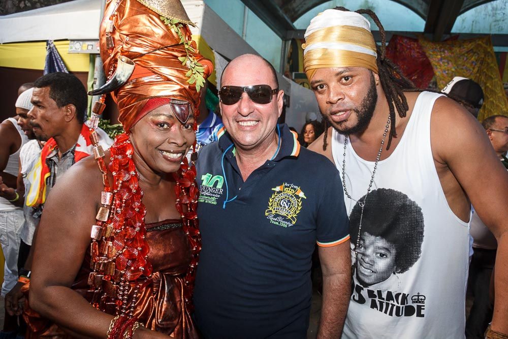 Negra Jhô, Nino Nogueira e Afro Jhow_Foto by Fabio Peixoto