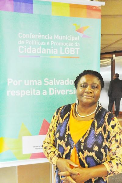 Secretária Ivete Sacramento (foto: Genilson coutinho)