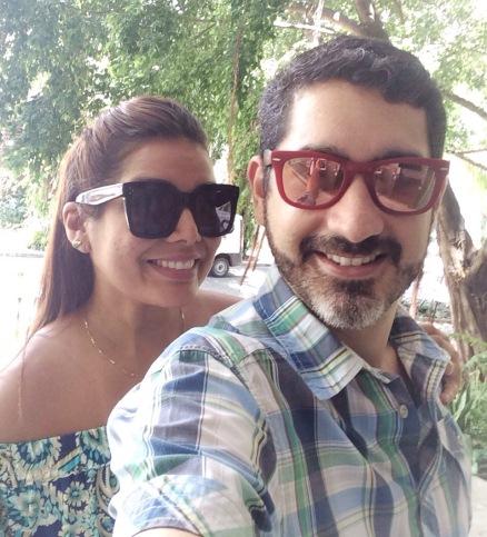 Adriana Régis e Bruno Sgrillo