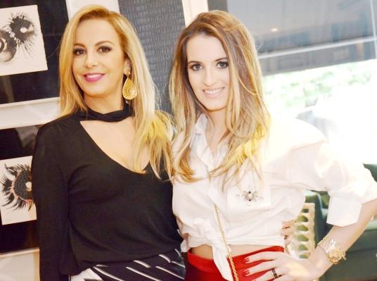 Larissa Bicalho e Marcella Brandalize