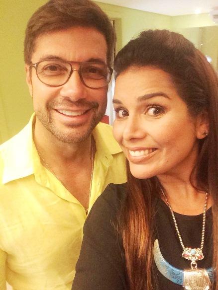 Fernando Torquatto e Adriana Regis