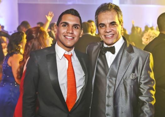 Leonardo Oliveira-Diretor de Criação- e Luciano Dorea - Presidente Canal 2 -. Foto Robson Nascimento