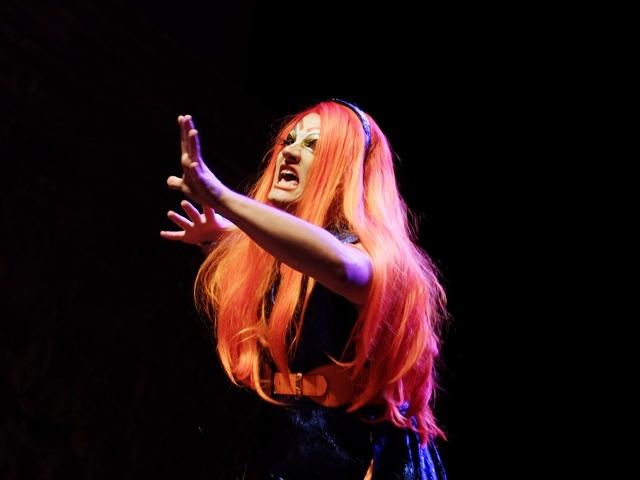 Nina Codona é uam das estrela da noite (Foto:Genilson Coutinho)