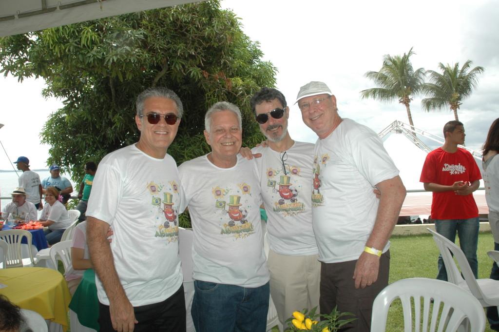 Luiz Carlos Moraes, Paulo Brandao, Fred Carvalho e Andre Blumber