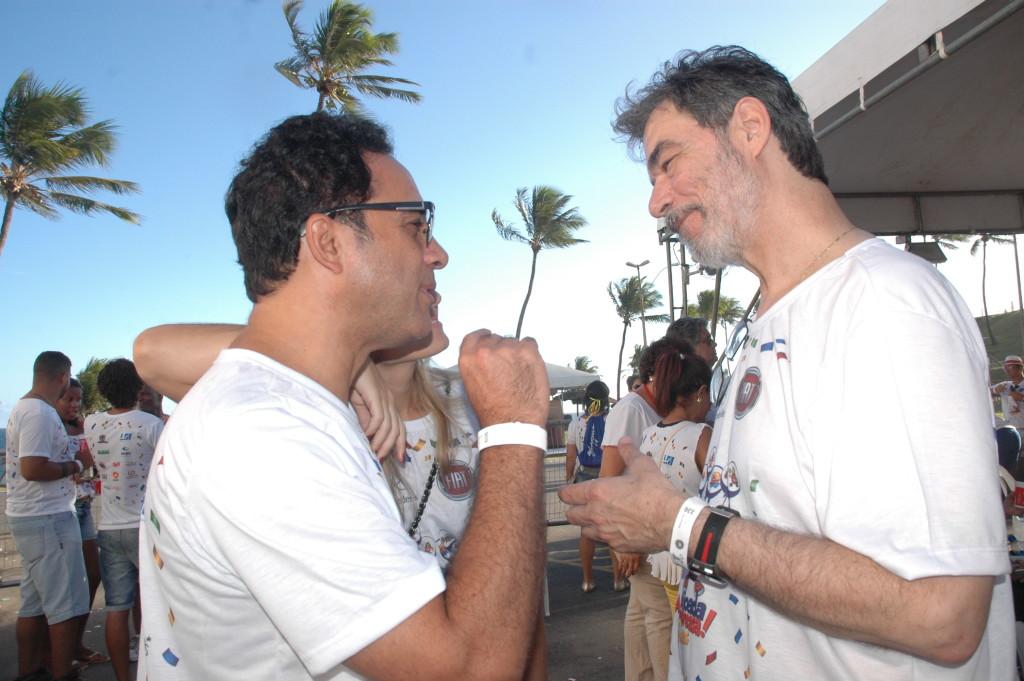 Marco Antonio Lage, FIAT, e Fred Carvalho, Anfavea