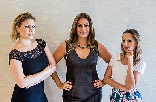 Marina Novaes, Cris Arcuri e Bia Tavares_Foto Estudio WE