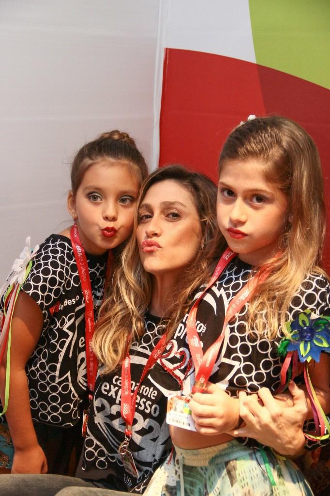 Flor Gil, Amora Mautner e Julia Palmeira (Foto: Divulgação)