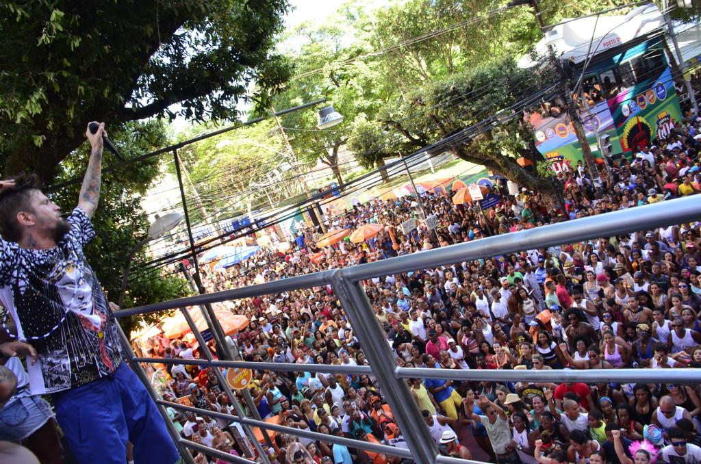 Saulo encerra Carnaval com Pipoca no Campo Grande (Foto: Saulo Brandão)