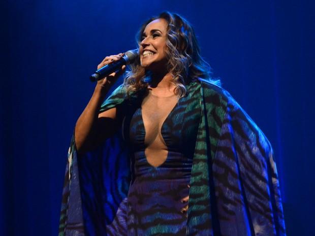 Daniela Mercury em show em São Paulo (Foto: Eduardo Martins/ Azzi Agency/ Divulgação)