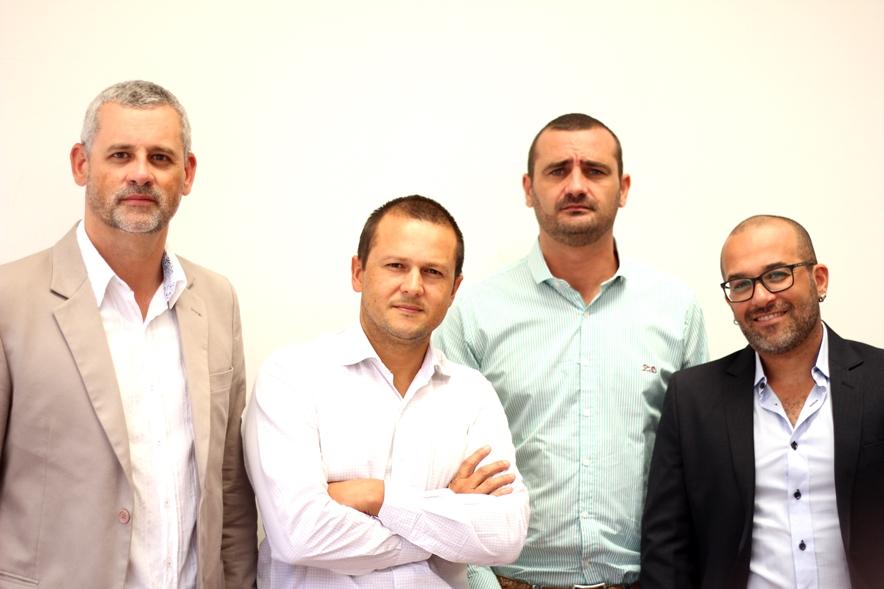 Ricardo Gomes, Alex Antunes, Darlan Schmidt e Junior Fortes