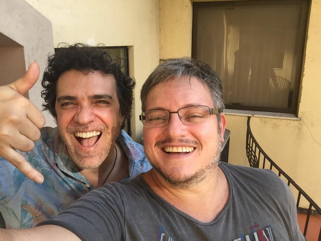 Paulinho Moska e Manno Góes (Foto: Divulgação)